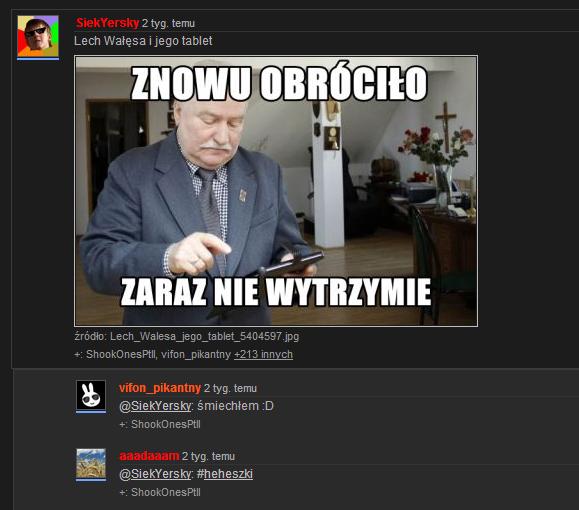 Leszek Śmieszek i jego tablet