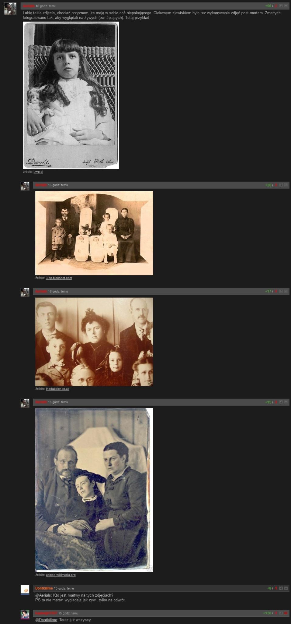 Kto jest martwy na tych zdjęciach?
