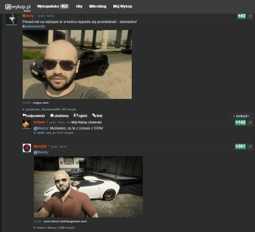 Screen z GTA